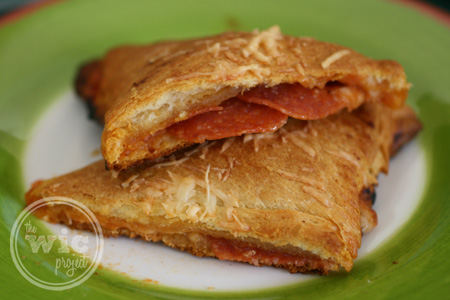 Crescent Pizza Pocket