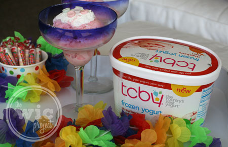 TCBY Tropical Splash Celebration