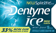 Dentyne Ice Split2Fit Pack