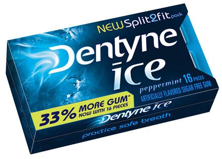 Dentyne Split2Fit Pack