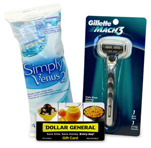 P&G Shaving Prize Pack