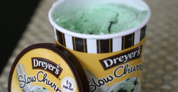Dreyer's Slow Churned Mint Chocolate Chip