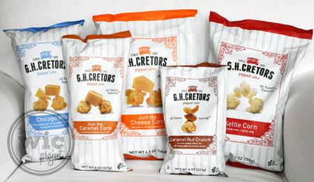 G.H. Cretors Popped Corn Flavors