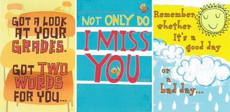 Hallmark Kids Encouragement Cards