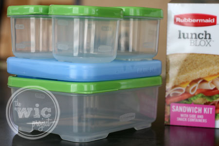 Rubbermaid LunchBlox Sandwich Kit