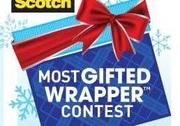Enter the 16th annual Scotch Brand Most Gifted Wrapper Contest