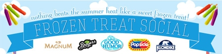 Frozen Treat Social Sweepstakes