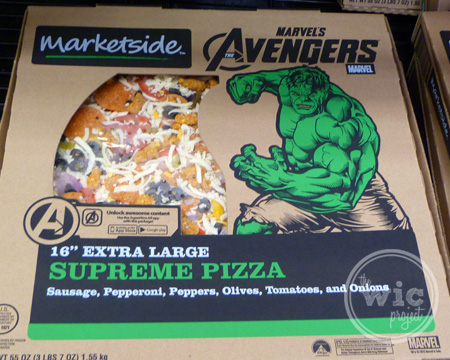 Avengers Hulk Marketside Pizza