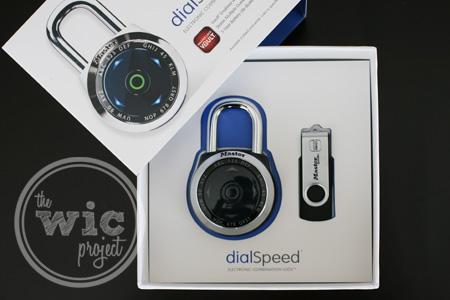 Master Lock dialSpeed Electronic Combination Lock