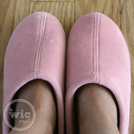Nature's Sleep Closed Toe Slippers