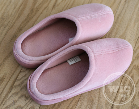 Nature's Sleep Closed Toe Slippers