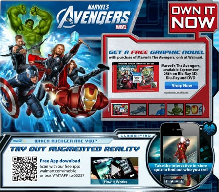 Walmart Marvel's The Avengers