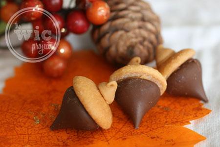 Chocolate Peanut Butter Acorn