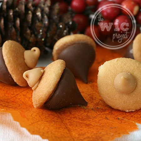 How to Make Chocolate Peanut Butter Acorns | The WiC Project Blog