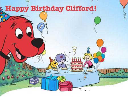 Happy Birthday Clifford