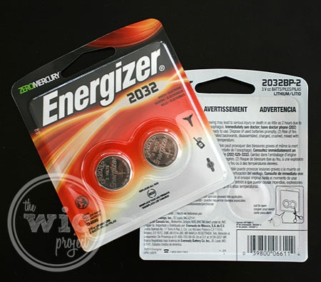 Energizer Coin Lithium 2032 Battery
