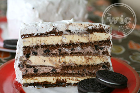 OREO Ice Cream Cake with Cool Whip Frosting