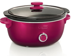 Pink BELLA Dots Slow Cooker