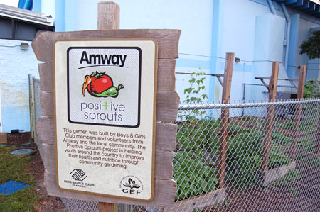 BGCA Amway Positive Sprouts