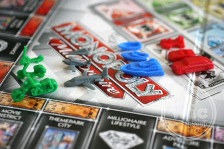 Monopoly Millionaire Game Pieces