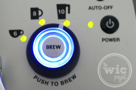 Keurig Brew Button
