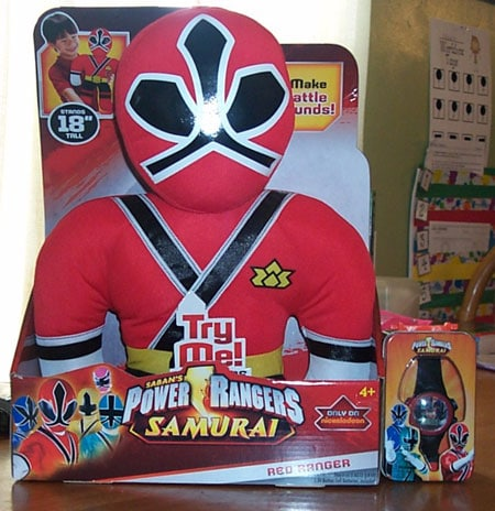 "Power Rangers Samurai 18"" Plush"