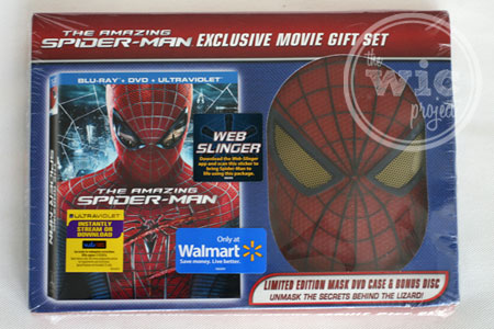 """The Amazing Spider-Man"" Exclusive Mask DVD Set"