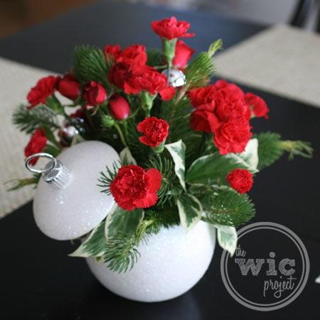 Teleflora Shimmering Snow Bouquet