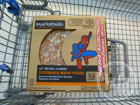 Spider-man MarketSide Ultimate Meat Pizza