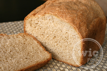 Homemade Simple Honey Whole Wheat Bread | The WiC Project Blog