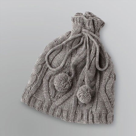 Women's Convertible Cable Knit Hat & Gaiter