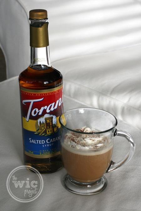 Holiday Drink Idea: Salted Caramel Cream Coffee