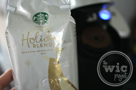 Starbucks Ground Holiday Blend