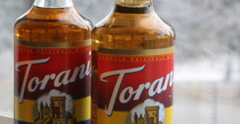 Holiday Drink Idea: Salted Caramel Cream Coffee with Torani Syrup