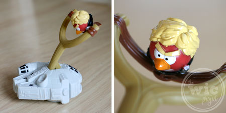 Angry Birds Millennium Falcon Launcher & Luke Skywalker Bird