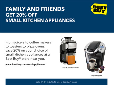 Best Buy Small Appliances Sale