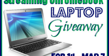 Streaming Chromebook Laptop Giveaway