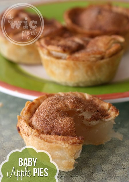 Baby Apple Pies