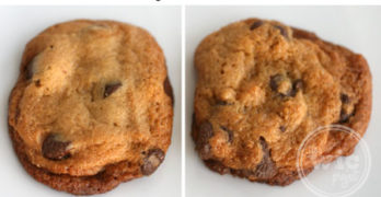 Make Refrigerated Cookie Dough Cookies Look Like Fresh Bakery Cookies