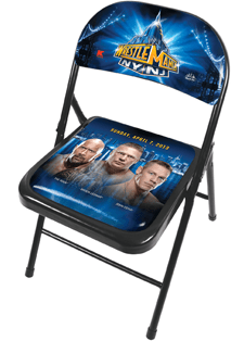 Limited Edition WrestleMania Chair