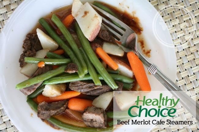 Healthy Choice Beef Merlot Cafe Steamer