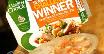 Healthy Choice Crustless Chicken Pot Pie
