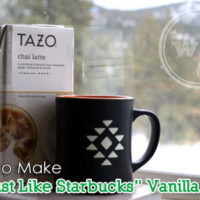 How to Make Starbucks Vanilla Chai Tea Latte