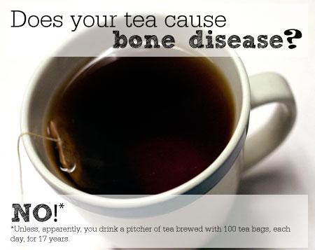Does your tea cause bone disease