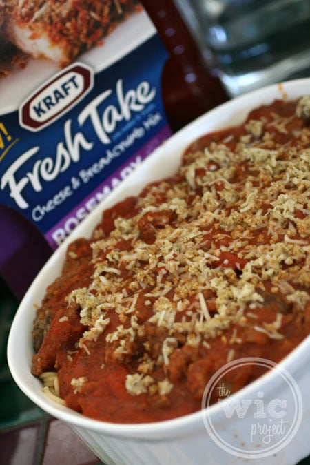 Kraft Fresh Take Baked Spaghetti