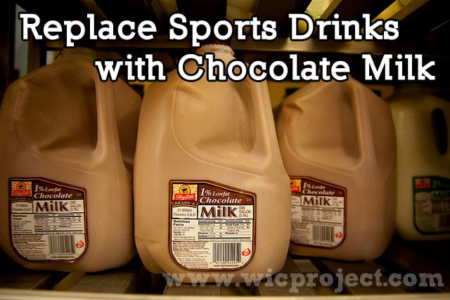 Replace Sports Drinks with Chocolate Milk