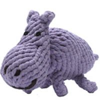 Jax Dog Rope Toy - Hank the Hippo