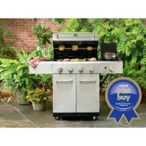 Kenmore 4-Burner Stainless Steel Gas Grill