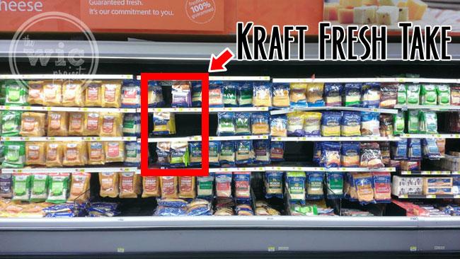 Kraft Fresh Take in the Cheese Aisle