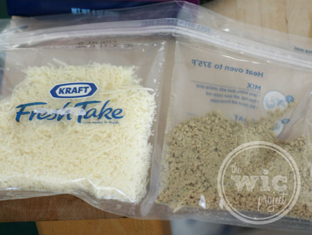 Kraft Fresh Take Contents
